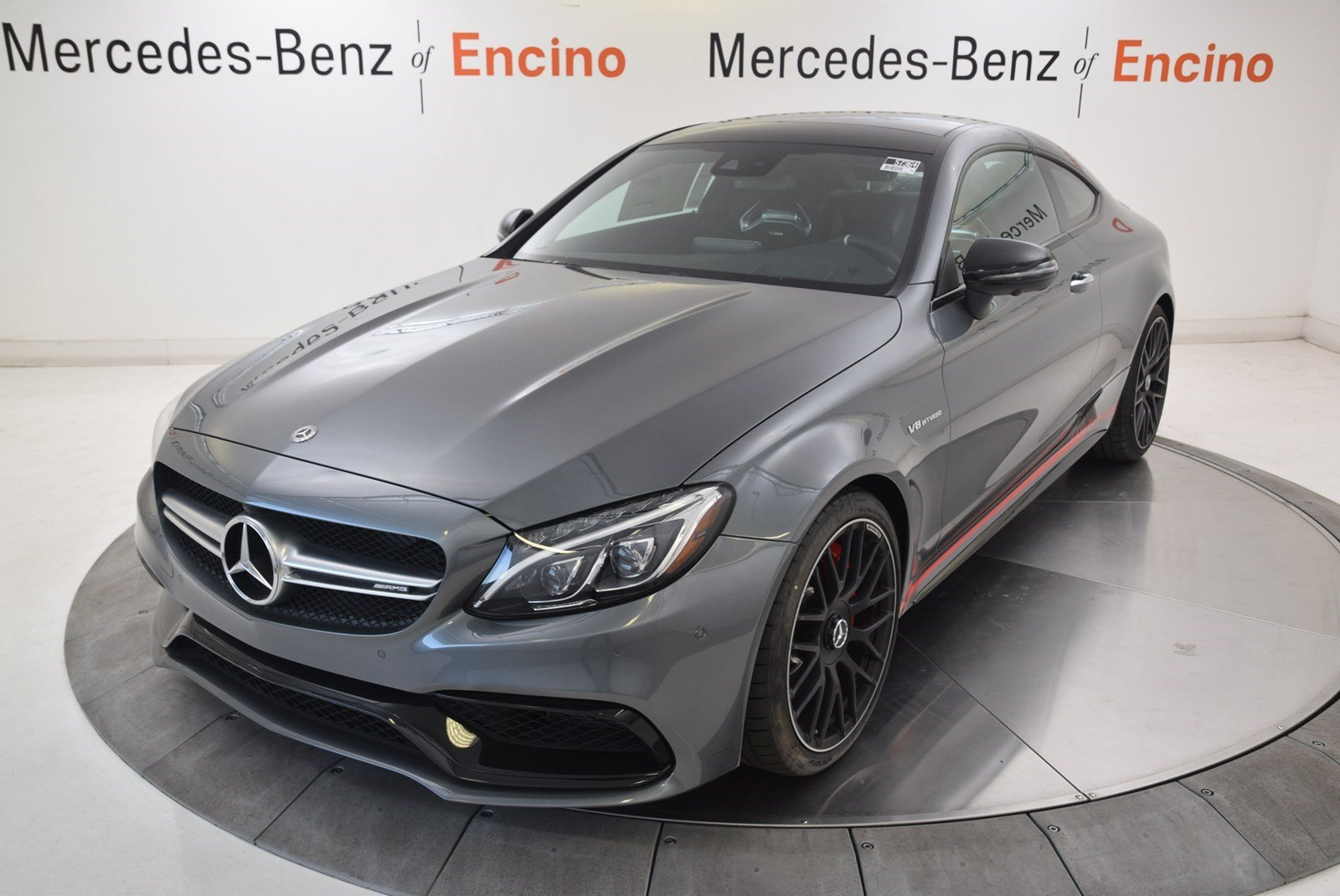 New 2018 Mercedes Benz C Class Amg C 63 S Coupe Coupe In Encino