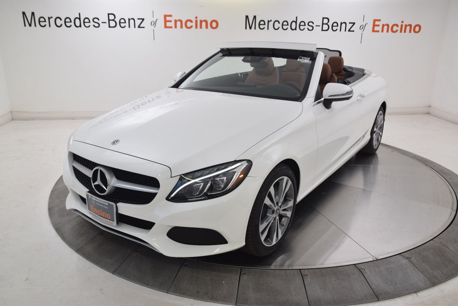 New 2018 Mercedes Benz C Class C 300 CABRIOLET in Encino